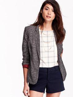 Women's Jersey Blazers Product Image