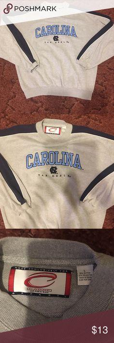 cadre athletic Carolina Tar Heels sweatshirt cadre athletic Carolina Tar Heels sweatshirt.  Excellent condition never worn large Carolina Tar heels  Shirts Sweatshirts & Hoodies