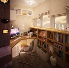 Home Office Design And Layout Ideas_14