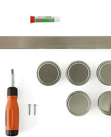 Mount a Magnetic Strip on the Wall | Step-by-Step | DIY Craft How To's and Instructions| Martha Stewart