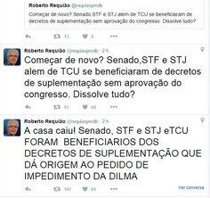 BLOG DO IRINEU MESSIAS: Gadelha e Requião: A casa caiu! Senado, STF, STJ e...