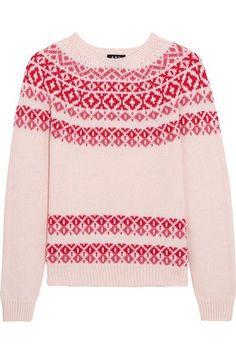 A.P.C. Atelier de Production et de Création - Romy Wool And Cotton-blend Sweater - Cream - x small