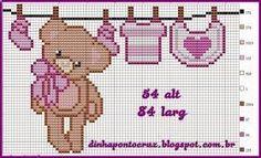 200 Cross Stitch – Page 18 Baby Cross Stitch Patterns, Cross Stitch For Kids, Cross Stitch Baby, Cross Stitch Alphabet, Hand Embroidery Patterns, Cross Stitch Charts, Cross Stitch Designs, Cross Stitching, Cross Stitch Embroidery