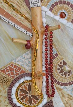 Mosaikbilder - Mosaik Bild - Ringhalter - Schlüsselhalter - ein Designerstück von Mandury bei DaWanda