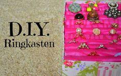 Meine rosa Welt: DIY: Ringkasten