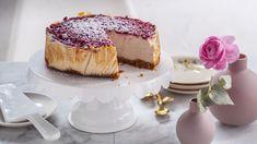 Vegaaninen juustokakku New York Cheese Cake -tyyliin Vegan Cheesecake, Nutella, Tiramisu, Nom Nom, Deserts, Pudding, Baking, Ethnic Recipes, Food