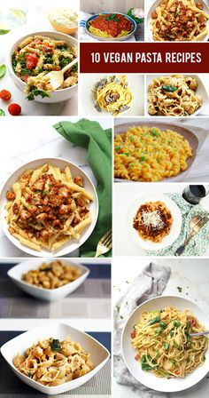 Who doesn't love pasta? Vegan pasta recipes are so incredibly versatile and simple that I'm sure everyone has at least one favorite recipe that they make over and over again! Here are 10 vegan pasta recipes that you'll want to make again and again – and you should! You will be surprised by how incredibly delicious these dishes can be without spending hours in the kitchen. #veganrecipes #pasta