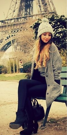 This outfit looks so cosy!