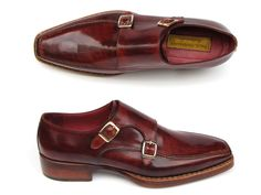 PAUL PARKMAN ® The Art of Handcrafted Men's Footwear - Paul Parkman Men's Double Monkstrap Goodyear Welted Shoes