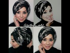Side Sweep Hijab tutorial & (bonus) Turban Tutorial |by fatihasWORLD - YouTube