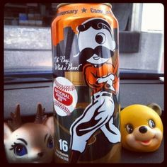 To mark the 20th anniversary of the opening of Camden Yards, National Bohemian released commemorative 16-ounce cans featuring one Mr. Boh at bat. What better place to enjoy them than at the stadium being celebrated?