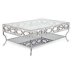 Abigail Coffee Table | Reflective Luxury | Living Room | Inspiration | Z Gallerie