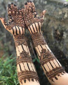 Khafif Mehndi Design, Floral Henna Designs, Mehndi Designs Feet, Latest Bridal Mehndi Designs, Stylish Mehndi Designs, Full Hand Mehndi Designs, Mehndi Designs 2018, Mehndi Designs For Girls, Mehndi Designs For Beginners