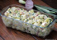 Farszynki Babci - Obżarciuch Love Food, Potato Salad, Grilling, Potatoes, Ethnic Recipes, Impreza, Diet, Salad, Egg Salad Recipes