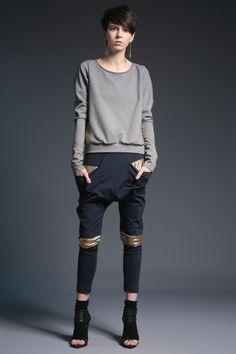 #fashion #woman #womansfashion #gold #gray buy on www.magdahasiak.com