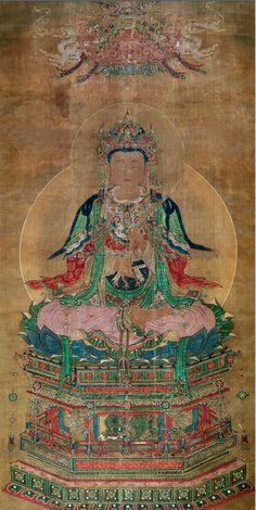 明 【文殊菩薩】 寶寧寺。山西博物院藏。