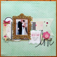 A Project by Tarrah from our Scrapbooking Gallery originally submitted 11/18/13 at 05:28 PM