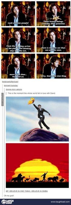 Lol I ♥ David Tennant.