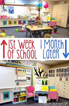 My Classroom Wasn't Ready (And it was OK) - Kinder Craze: A Kindergarten Teaching Blog