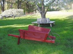 Wheelbarrow idea