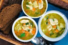 Vegetable and Dumpling Soup   Homemade Vegetable Soup Recipes   https://homemaderecipes.com/vegetable-soup-recipes-homemade/