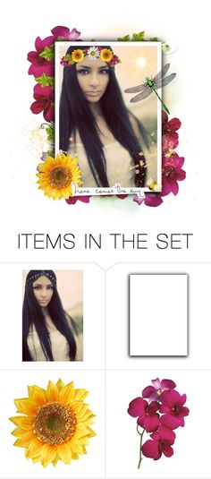 """""""~ Here Comes The Sun ~"""" by romantiquechic ❤ liked on Polyvore featuring art"""