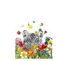 Happy Tiger by Zlatka Paneva | Pottery Barn