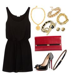 Wening Cintron Sexy Night Out to Party!? by wening11 on Polyvore featuring polyvore, fashion, style, Splendid, Christian Louboutin, Diane Von Furstenberg, Versace, CHARLES & KEITH, Forever 21, Eddie Borgo, Chanel, Givenchy and clothing