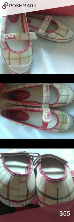 Coach flat shoes Fabric material Coach Shoes Flats & Loafers
