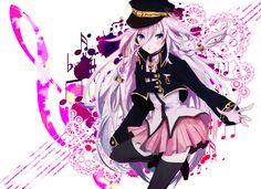 Anime Vocaloid IA (Vocaloid) Wallpaper