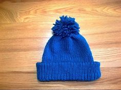 ▶ #4. How To Make A Brim Hat (Loom Knit Style) On The Addi Express King size Machine - YouTube