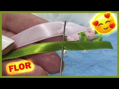 YouTube Diy Lace Ribbon Flowers, Ribbon Art, Diy And Crafts, Butterfly, Pets, Youtube, Ribbons, Macrame, Passion