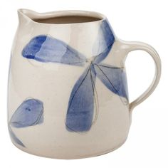 Lace Painted 1L Ceramic Jug Lace Painting, Confectionery, Bath And Body, Ceramics, Womens Fashion, Accessories, Kitchen, Image, Products