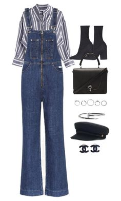 """""""Untitled #11100"""" by katgorostiza ❤ liked on Polyvore featuring AlexaChung, Yeezy by Kanye West, Carven, Cartier and Chanel"""