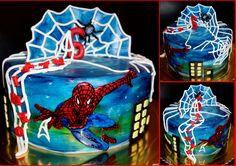 torta, cake Spiderman
