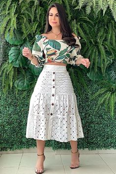 Skirt Outfits Modest, Chic Outfits, Dress Skirt, Dress Outfits, Fashion Dresses, Midi Skirt, Trendy Dresses, Summer Dresses, African Traditional Dresses