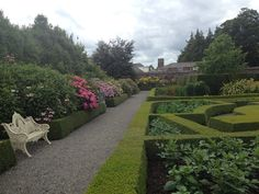 Presidents garden in the Phoenix Park Dublin