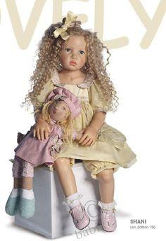 Hildegard Gunzel muñeca colección 2010 / Muñeca Gotz - coleccionables y jugar Gotz / Beybiki. Doll foto. Baby doll
