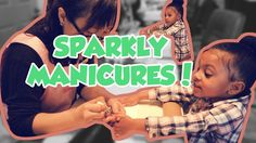 Twins Get Sparkly Manicures! (& new INTRO)