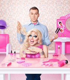 Trixie Mattel Hair Doll, and Himself, RPDR 7.