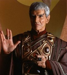 """Sarek portrayed by Mark Lenard. """"Sarek of Vulcan, an astrophysicist, spent most of his life in service of the Vulcan people, as an ambassador and representative on the Federation Council. He was also well known as the father of noted Starfleet officer (and fellow diplomat) Spock and the former husband of the Earth woman Amanda Grayson."""" http://en.memory-alpha.org/wiki/Sarek"""