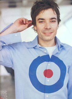Jimmy Fallon wearing The Who Target