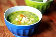 supa de pui cu orez si spanac Cheeseburger Chowder, Nutella, Blog, Cooking, Ethnic Recipes, Soups, Romania, Salads, Kitchen