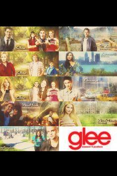 Glee Season Four Poster