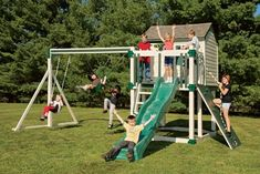 C-4 Hideout Vinyl Playset by Amish Direct Playsets