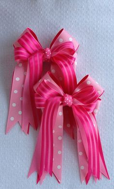 Horse Show Hair Bows by BowdanglesShowBows on Etsy, $25.00