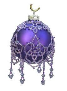 Image result for Free Beaded Christmas Ball Covers