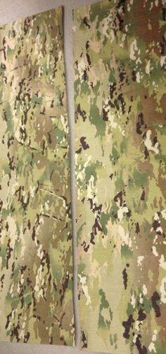 MultiCam OCP (Operation Enduring Freedom Camouflage Pattern) & Scorpion W2 OCP (Operational Camouflage Pattern)