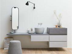 Мебель для умывальника Коллекция Esperanto by Rexa Design | дизайн Monica Graffeo