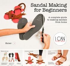 sandal making for beginners